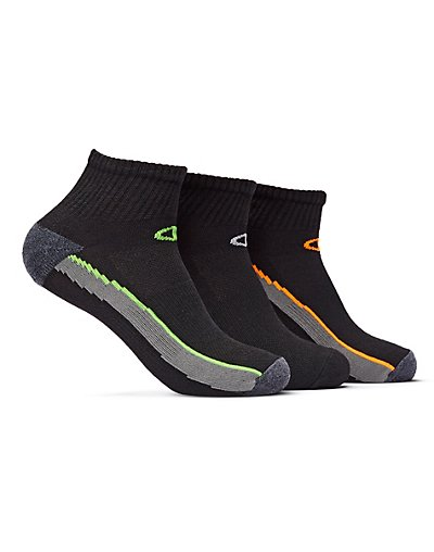 Champion Men's Ankle Training Socks 3-Pack - CH202