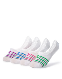 Champion Women's Performance Liner Stripe Socks 4-Pack women Champion