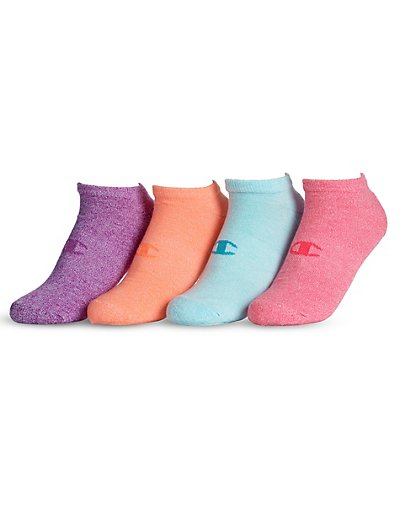 Champion Women's No-Show Socks 4-Pack - CH224