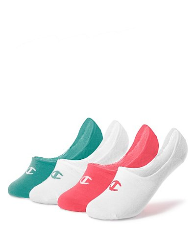 Champion Women's Performance Liner Socks 4-Pack CH229