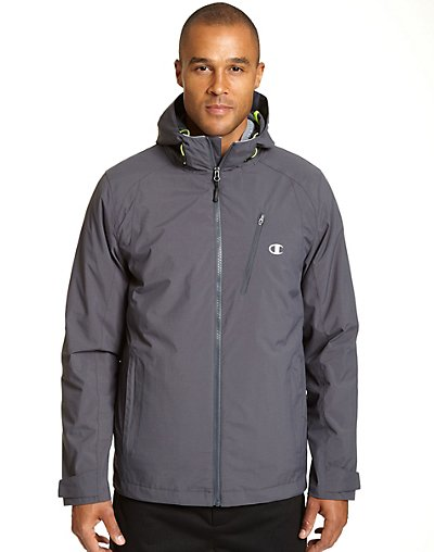 Champion CH4000  Men's Technical Ripstop 3 in 1 Insulated Jacket