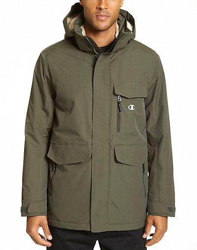 Champion Men's High Performance 2-Layer Jacket With Sherpa Lining - CH4006
