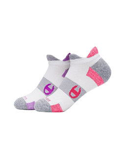 Champion Women's Double-Heel Shield Running Socks 2-Pack women Champion