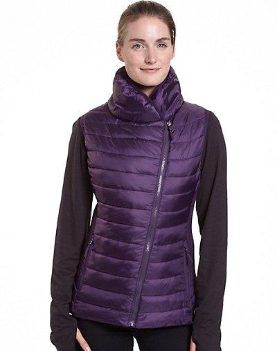 Champion Women's Assymetrical Zip Front Vest - CH7001PP