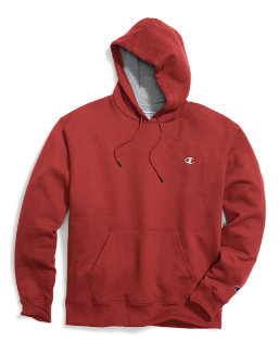 Champion Big & Tall Men's Pullover Fleece Hoodie with Contrast Liner men Champion