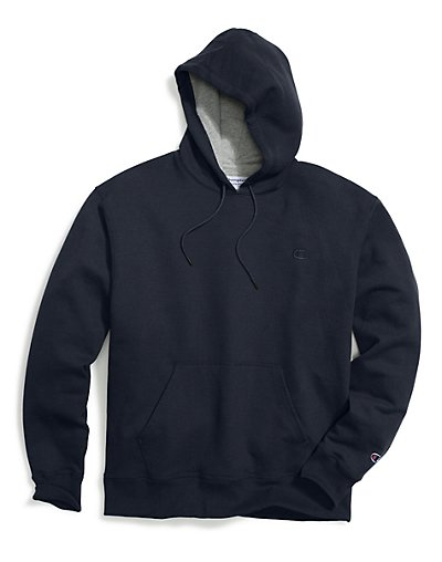 Champion Big & Tall Men's Pullover Fleece Hoodie with Contrast Liner - CH101