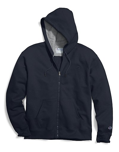Champion Big & Tall Men's Zip Fleece Hoodie - CH105