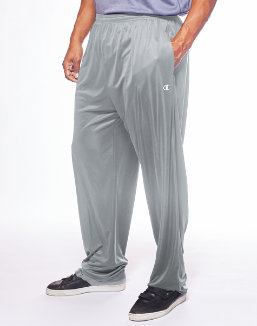 Champion Men's Big & Tall Performance Open Bottom Pant men Champion