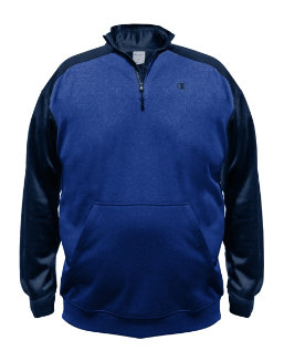 Champion Big & Tall Performance Pieced 1/4 Zip men Champion