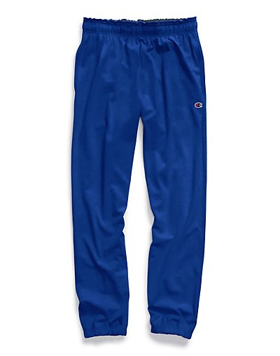 Champion Big & Tall Men's Jersey Pants with Elastic Bottom - CH306