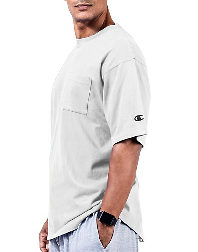 Champion Big & Tall Men's Short Sleeve Pocket Jersey Tee - CH310