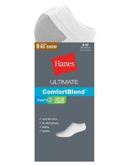 Hanes Ultimate Men's Extra Low-Cut Sock 6-Pack men Hanes