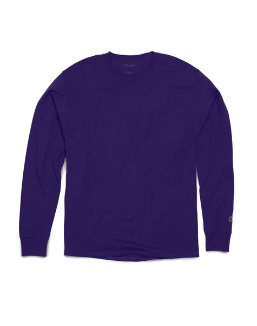 Champion Long Sleeve Ring Spun T-Shirt men Champion