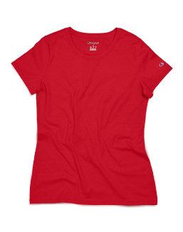 Champion Women's Short Sleeve Ring Spun T-Shirt women Champion