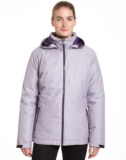 Champion Women's Plus Technical Heather 3-in-1 Jacket With Microfleece Liner women Champion