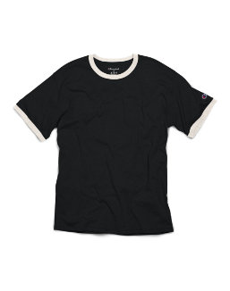 Champion Short Sleeve Triblend Ringer T-Shirt men Champion