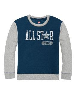 Hanes Boys' Graphic Fleece Colorblocked Sweatshirt youth Hanes