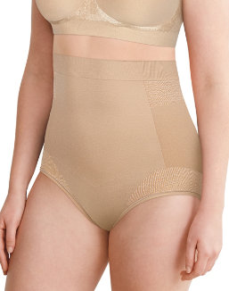 Bali Comfort Revolution Firm Control High Waist Brief women Bali