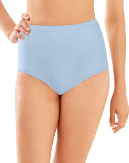 Bali Full-Cut-Fit Stretch Cotton Brief women Bali