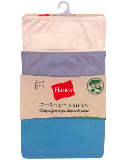 Hanes EcoSmart Brief 3-Pack women Hanes
