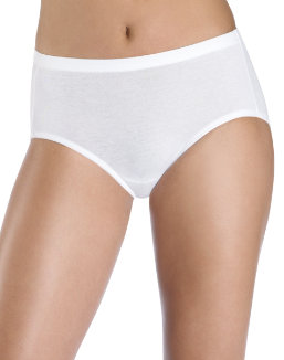 Hanes Women's Cotton Stretch Low Rise Brief with ComfortSoft® Waistband 3-Pack women Hanes