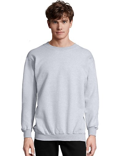 Hanes Men?ÇÖs Ultimate Cotton® Heavyweight Crewneck Sweatshirt