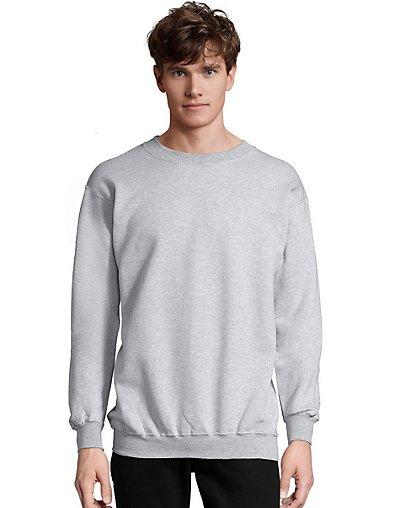 Hanes Men?ÇÖs Ultimate Cotton® Heavyweight Crewneck Sweatshirt