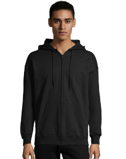 Hanes Men's Ultimate Cotton® Heavyweight Full Zip Hoodie (F280) men Hanes