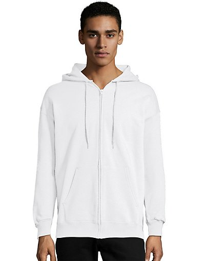 Hanes Ultimate Cotton® Fleece Full-Zip Men's Hoodie - F280