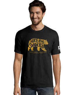 Hanes Men's ComfortWash™ Hike The Smokies National Park Short Sleeve Tee G100P Y07842