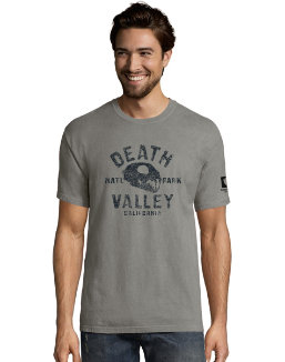 Hanes ComfortWash Death Valley National Park Graphic Short Sleeve Tee men Hanes