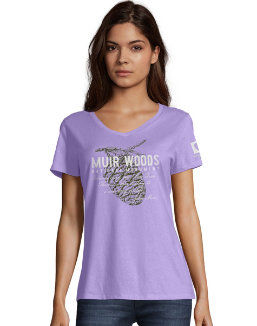 Hanes Muir Woods National Monument National Park Women's Graphic Tee G9337P Y07761