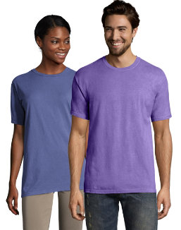 Hanes Men's ComfortWash™ Garment Dyed Short Sleeve Tee men Comfortwash