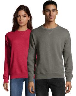Hanes Men's ComfortWash™ Garment Dyed Fleece Sweatshirt men Hanes