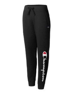 Champion Women's Plus Powerblend® Fleece Joggers, Vertical Logo women Champion