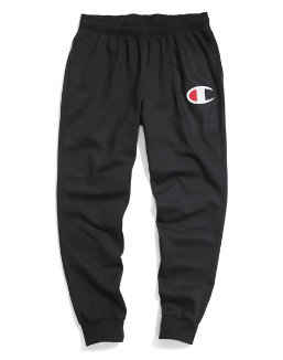 Champion Men's Powerblend® Fleece Joggers, Big C Logo men Champion