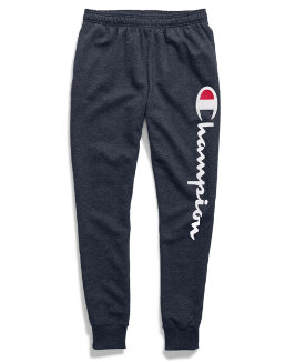 Champion Men's Powerblend® Fleece Joggers, Vertical Script Logo men Champion