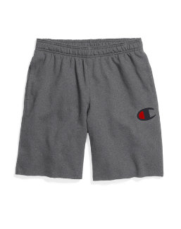 Champion Men's Powerblend™ Fleece Shorts, Big C Logo men Champion