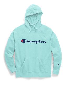 Champion Women's Powerblend® Fleece Pullover Hoodie, Script Logo women Champion