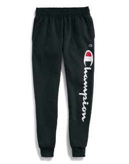 Champion Men's Classic Jersey Joggers, Vertical Script Logo men Champion
