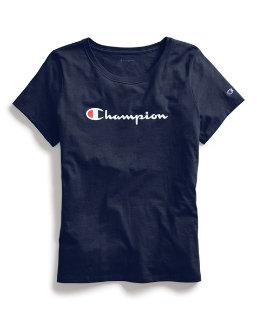 Champion Women's Classic Tee, Script Logo women Champion