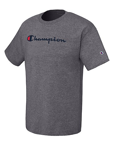 Hanes Men Graphic Jersey Tee - Script - GT280