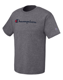 Champion Men's Jersey Tee, Script Logo men Champion