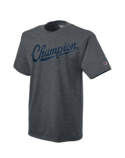 Champion Men's Jersey Tee, Baseball Script Logo men Champion