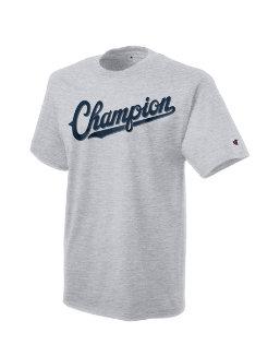 Champion Men's Jersey Tee, Baseball Script Logo men Champion