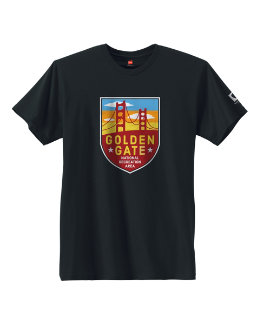 Hanes Golden Gate National Park Graphic Tee men Hanes