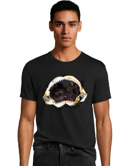 Men's Shark Teeth Graphic Tee men Hanes