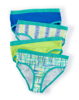 Hanes X-Temp® Girls' Brief 4-Pack youth Hanes
