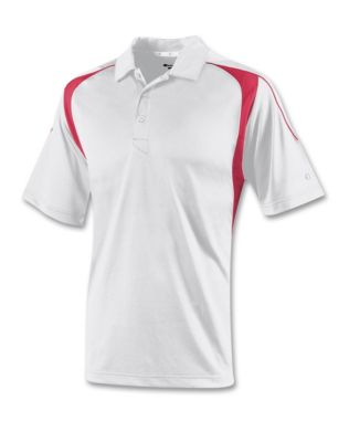 Champion Double Dry Elevation II Polo|H316 - White/Scarlet - X-Large at Sears.com