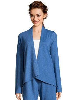 Hanes Women's French Terry Lounge Wrap women Hanes